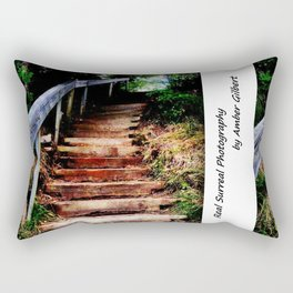 Stairs 3 Rectangular Pillow