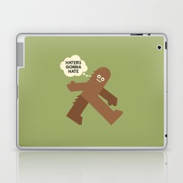 Bigfoot Has So Many Haters Laptop & iPad Skin