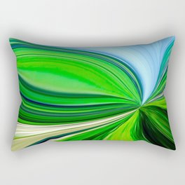 How Green Is My Valley Rectangular Pillow