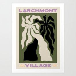 Larchmont Village Art Print