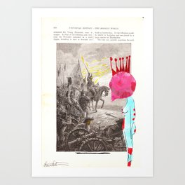 War on women Art Print