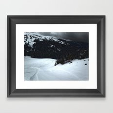 Loveland Pass Framed Art Print