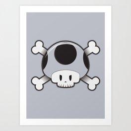 Toad Skull Art Print