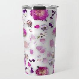 Flower potpourri Travel Mug