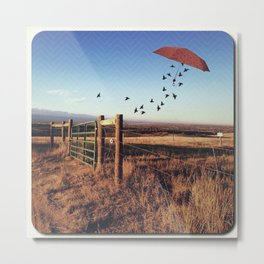 Travel With Me Metal Print