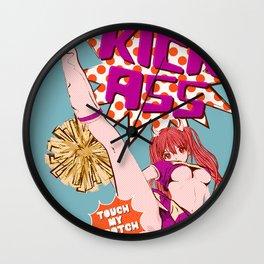 HIGH KICK! Wall Clock