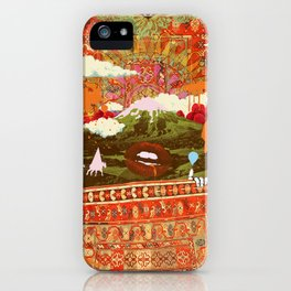 MORNING PSYCHEDELIA iPhone Case