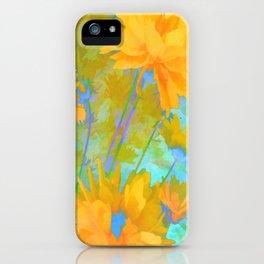 Coreposis - Yellow, Purple, Blue, Green iPhone Case