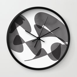 Half Cirlce Delight Wall Clock