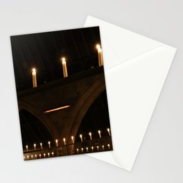 Christmas Candle Magic Stationery Cards