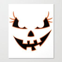 Funny & Cool Halloween Costume Tee Pretty Halloween Canvas Print
