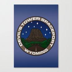 Devil's Tower Spaceport Canvas Print