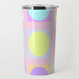 Pastel Dots Travel Mug