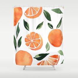 Summer oranges Shower Curtain