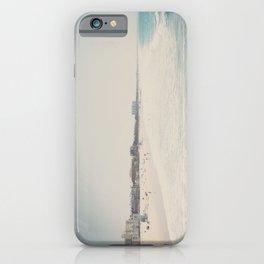 Summer dreams ... Santa Monica beach print iPhone Case