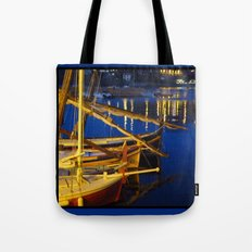Night in the Harbour Tote Bag