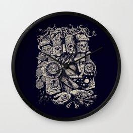 Mictecacihuatl 2 Wall Clock