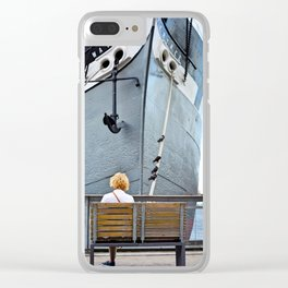 Waiting for Adventure Clear iPhone Case