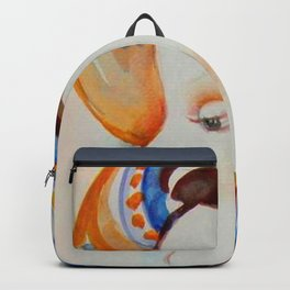 Portrait of a Young Lady Backpack