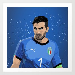 Buffon Italia Art Print