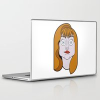 helen green Laptop & iPad Skins featuring Helen Sharp by mattiaBAUvegni