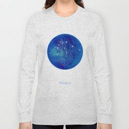 Constellation Aquarius Long Sleeve T-shirt