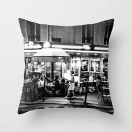 Le Chinon (Montmartre; Paris) Throw Pillow