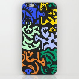 6 colors iPhone Skin