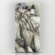 Bass Harbor Head Lighthouse Slim Case iPhone 6 Plus