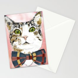 Pecan the nut Stationery Cards