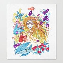 Fiesta de Bichos Canvas Print