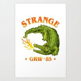 Strange Art Print