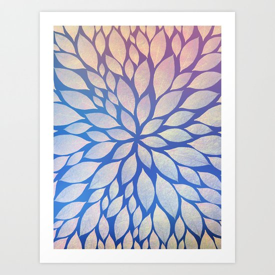 Petal Burst #17 Art Print