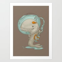 evolution Art Prints featuring Evolution by Lili Batista