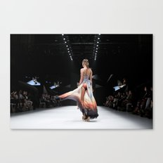 Back Down the Runway Canvas Print