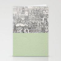 circle Stationery Cards featuring Circle by David Fleck