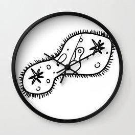 Paramecium Wall Clock