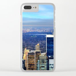 Central Park Clear iPhone Case
