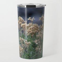 Dried Wildflowers at Bridal Falls Utah Travel Mug