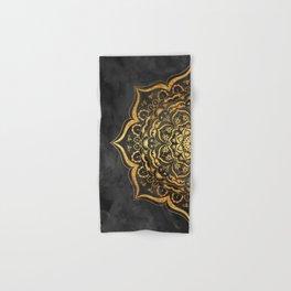 Gold Mandala Hand & Bath Towel