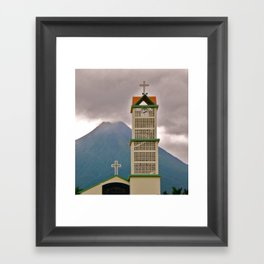 Drama Framed Art Print