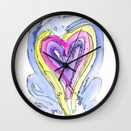Flow Series #14 Wall Clock
