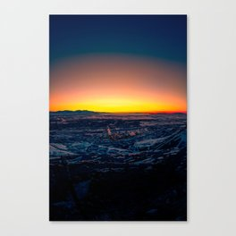 Utah Sunset Canvas Print