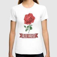 alex vause T-shirts featuring Alex Vause 1 by leeann walker illustration