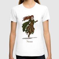valar morghulis T-shirts featuring Nessa by wolfanita