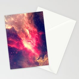 The Sky is on Fire Stationery Cards