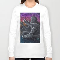 atlas Long Sleeve T-shirts featuring Atlas by Drake Arnold Art