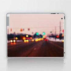 City Lights Bokeh Laptop & iPad Skin