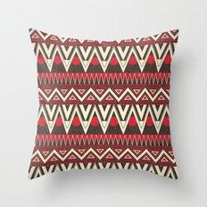 Tribal New World  Throw Pillow