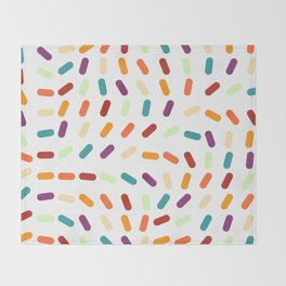 Jellybeans Throw Blanket